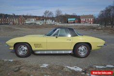 1967 Chevrolet Corvette Convertible #chevrolet #corvette #forsale #unitedstates