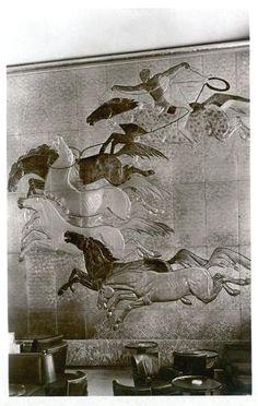 Normandie décoration les chevaux par Henri Dunant