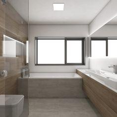 Moderná kúpeľňa CADDY - vizualizácia