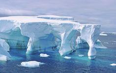 Arches de glace, croisière en Antarctique