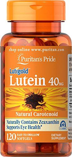 Lutein 40 mg with Zeaxanthin-120 Softgels