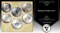 Summer brads vol.1 by Black Lady Designs