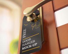 Go Fresh Restaurant Door Hanger  Hanger Door Hanger Template And