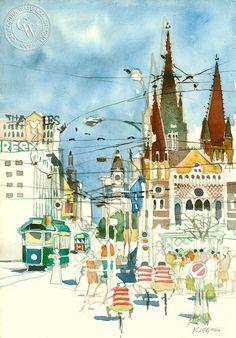 Melbourne, Australia, 1950