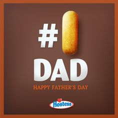 Because today every dad is a #1 dad. Happy Father's Day!