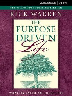 <3 The Purpose-Driven Life.   Read this, very good book.still have flash cards I made....
