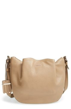 Tod's 'Small Flower' Leather Crossbody Bag available at #Nordstrom