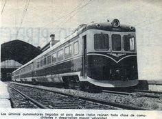 AMZ 51 Automotor Italiano (Milan) El 22 de noviembre de 1962 se realizó viaje inaugural.  Publicado en Revista en Viaje diciembre de 1962.