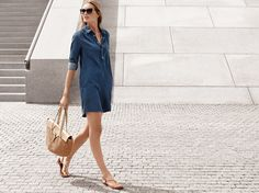 You can't do off-duty style without denim. -xxMK #StyleTip
