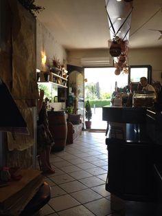 Caffe Giardino in San Gimignano, Tuscany