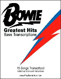 BOWIE GREATEST HITS BASS TRANSCRIPTIONS