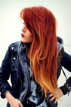 One day, I'm going to dye my hair like that...