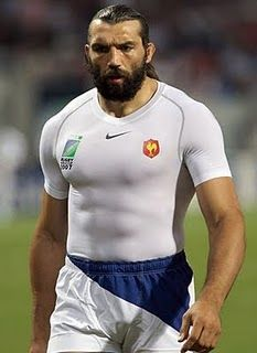 Chabal -- Rugby. No pads. No breaks. No pain. This is the man you face. NFL wouldn't stand a chance.