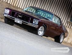 Classical gas: an immaculately completed father-and-son HQ project — The Motorhood Australian Muscle Cars, Aussie Muscle Cars, American Muscle Cars, Holden Kingswood, Holden Muscle Cars, Holden Australia, Crate Engines, Tuner Cars, Drag Racing