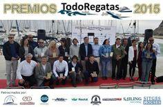 Foto de familia de todos los nominados y ganadores de los Premios TodoRegatas 2015 -
