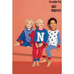 Lot de trois pyjamas douillets à motif étoiles (9 mois à 6 ans) Bleu- Vue 1