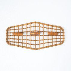 Olaf von Bohr Bamboo Coatrack with 3 Hooks, Italy Midcentury Bamboo Structure, Botanical Decor, Mid Century Modern Design, Olaf, Midcentury Modern, Italy, Hooks, Interiors, Vintage