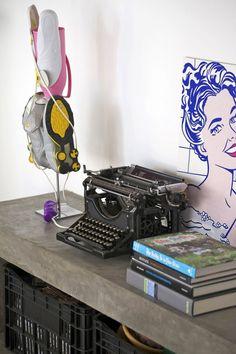Máquinas de escrever. Cheias de história.