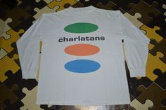 Vintage 90s THE CHARLATANS Tour Concert Promo album rare T-shirt by OldSchoolZone on Etsy