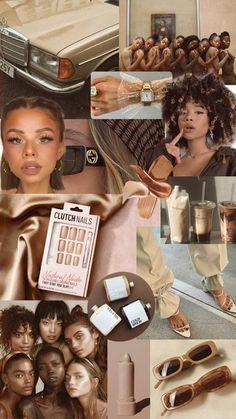 Boujee Aesthetic, Black Girl Aesthetic, Brown Aesthetic, Aesthetic Collage, Aesthetic Pictures, Iphone Wallpaper Tumblr Aesthetic, Black Aesthetic Wallpaper, Aesthetic Wallpapers, Teen Wallpaper