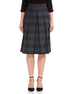 69d3b7b7d3924b Indiana Stripe Midi Skirt   JacquiE Printed Skirts, Wrap Style, Indiana, Midi  Skirt
