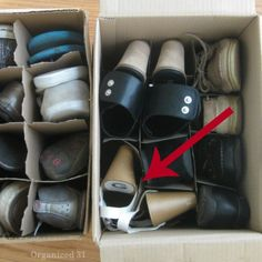 Packing, Moving & Storing Shoes - Organized 31