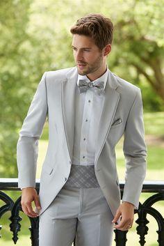 Grey Suit Men Blazer Beach Wedding Men Suit With White Pants Smart Terno Slim Fit Tuxedo Coat Prom Jacket Costume Homme Tuxedo Suit, Tuxedo For Men, Terno Slim Fit, Wedding Dress Men, Wedding Tuxedos, Grey Tuxedo Wedding, Gray Tuxedo, Grey Wedding Suits For Men, Casual Wedding
