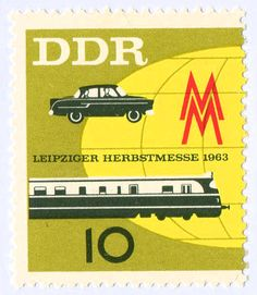 Los sorprendentes sellos de Alemania del Este. Vía Yorokobu