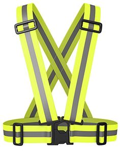 Reflective High Visibility Safety Running Vest *** You can get more details by clicking on the image.