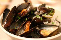 julia child's mussels in marinière broth. this summer! #smittenkitchen