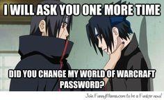 Itachi's Password - Naruto