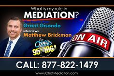 Family Mediator Matthew Brickman Explains the Different Roles and Role-Players In Mediation