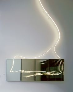 Brigitte Kowanz's lighting art & lighting in architecture. She is based in Vienna.