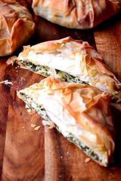 Feta and Spinach Borek - frugalfeeding