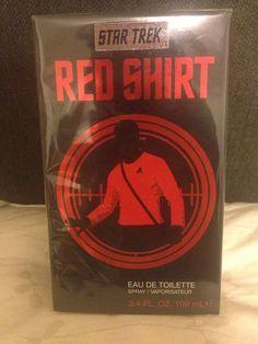 Star Trek by Red Shirt EDT Spray 3.4 oz NEW IN SEALED BOX #StarTrek