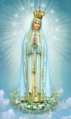 Our Lady Queen in Heaven Religious Pictures, Jesus Pictures, Religious Icons, Religious Art, Catholic Prayers, Catholic Art, Catholic Saints, Blessed Mother Mary, Blessed Virgin Mary