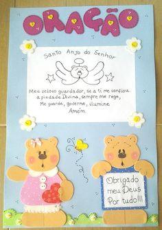 ♥: ♥ Kit Sala de Aula # Casal de Ursinhos