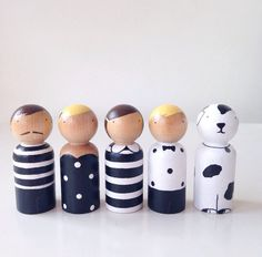 the d family peg people