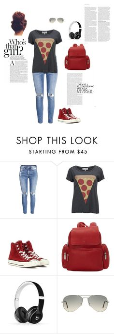 """""""PIZZA"""" by adriannanichole10 on Polyvore featuring H&M, Wildfox, Converse, Le Donne, Beats by Dr. Dre, Ray-Ban and ASOS"""