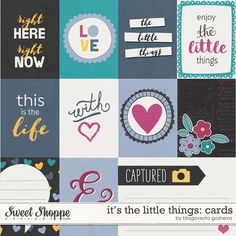 It's the little things {cards} by Blagovesta Gosheva