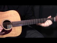 """how to play """"Never Going Back Again"""" by Fleetwood Mac - acoustic guitar lesson - YouTube"""