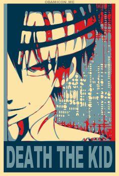 Death The Kid Obamiconme by saiyanzrepublik on deviantART