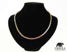 Viking Knit Necklace Viking Jewelry Multi by UrsulaChainmaille, $27.00