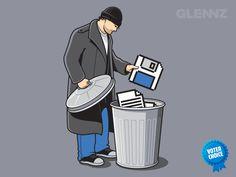 Tecnologia... de minuto em minuto algo é descartado definitivamente. :)