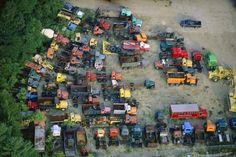 Truck Yard / Alex MacLean