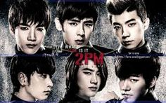 2pm amazing kpop group I also love