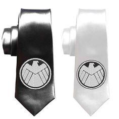 Superheroe marvel SHIELD necktie Avengers by SleekandUniqueGifts Avengers Wedding, Marvel Wedding, Geek Wedding, Wedding Ties, Superman Wedding, Wedding 2017, Wedding Stuff, Geek Chic, Estilo Geek