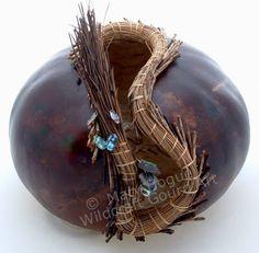 gourd gallery art | Gourd Art Gallery-Wildcraft Gourds,Utah,USA