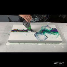 Mardi Gras inspired Dutch pour    #fluidart #fluid #fluidpainting #fluidartwork #fluidartist #fluidacrylicpainting #fluidacrylics #acrylicpainting #acrylicpouring #acrylicpour Acrylic Pouring Techniques, Acrylic Pouring Art, Acrylic Art, Texture Painting On Canvas, Pour Painting, Mardi Gras, Easy Canvas Art, Beginner Painting, Painting Lessons