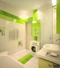like the green Bathroom Tile Designs, Bathroom Interior Design, Cool Rooms, Decoration, Tiles, Bathtub, Home Appliances, Scarf Styles, Dresses Online